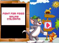 Tom si Jerry Bataie pe Mancare