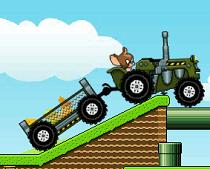 Tom si Jerry cu Tractorul