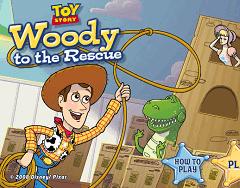 Toy Story - Woody Salvatorul