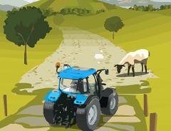 Tractorul din Livada