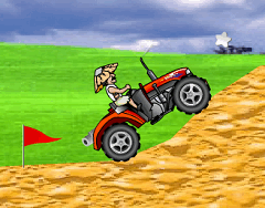 Tractorul din Safari