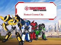 Transformers Protejeaza Orasul