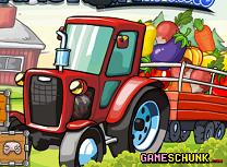 Transporta Legume cu Tractorul