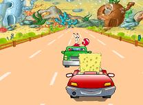 Traseul lui Spongebob