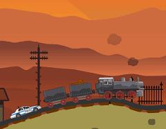Trenul si Politia