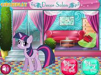Twilight Sparkle Decoreaza Dormitorul