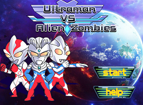 Ultraman Vs Zombi Extraterestri
