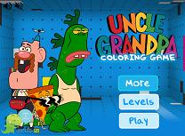 Unchiul Bunic de Colorat