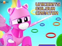 Unicornul si Culorile