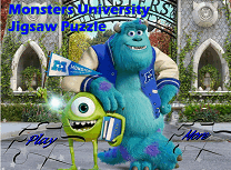 Universitatea Monstrilor Puzzle