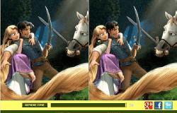 Rapunzel si Flyn Diferente