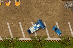Parcheaza tractorul