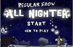 Mordecai si Rigbi- O noapte lunga