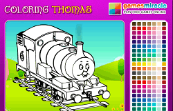 Coloreaza-l pe thomas