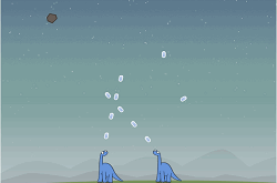 Dinozauri si Meteoriti