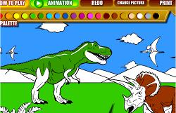Picteaza Dinozaurii