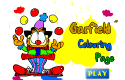 Coloreaza-l pe Garfield 2