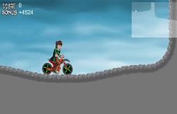 Ben 10 Omniverse pe Motocicleta