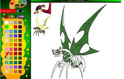 Coloreaza-l pe Bloxx si Stinkfly