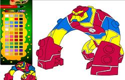 Coloreaza-l pe Bloxx