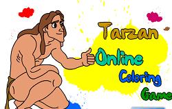 Tarzan de Colorat