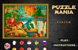 Tarzan Puzzle Mania