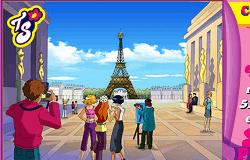 Spioanele la Paris - Puzzle