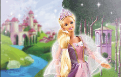 Puzzle cu Rapunzel