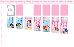 Printesele Disney Solitaire