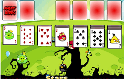 Solitaire cu Angry Birds