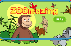 Curiosul George la Zoo