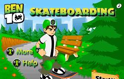 Ben 10 cu SKateboardul