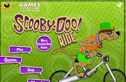 Scooby Doo Pe Bicicleta