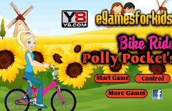 Polly Pocket cu Bicicleta