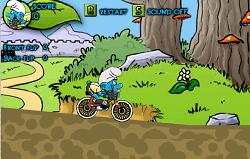 Bicicleta Strumfului