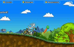 Bugs Bunny pe Bicicleta