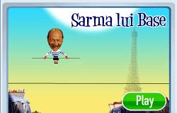 Basescu pe Sarma