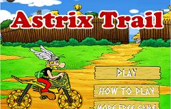 Asterix cu Motocicleta