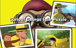 Curiosul George Puzzle 2