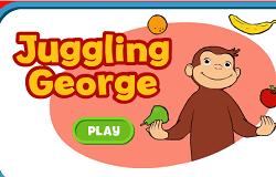 Curiosul George Face Jonglerii