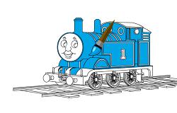 Coloreaza cu Thomas