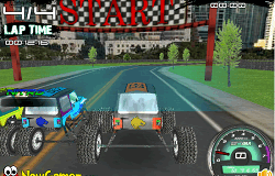 Drifturi cu Monster Truck