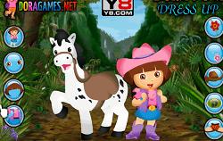 Dora si Poneiul Dress-up