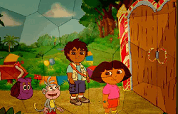 Dora si Diego Puzzle