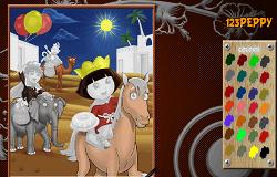 Coloreaza-i pe Dora si Diego