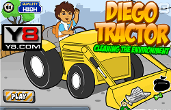 Diego cu Tractorul