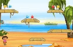 Dora si Diego Comoara de pe Plaja