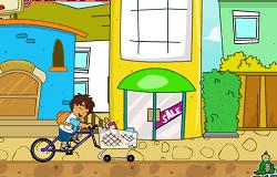 Diego cu Bicicleta
