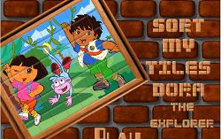 Dora si Diego Puzzle 2