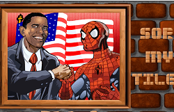 Obama Si Spiderman Puzzle